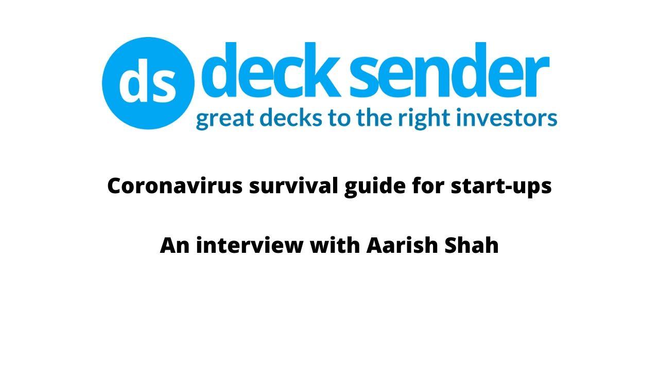 coronavirus survival guide for startups