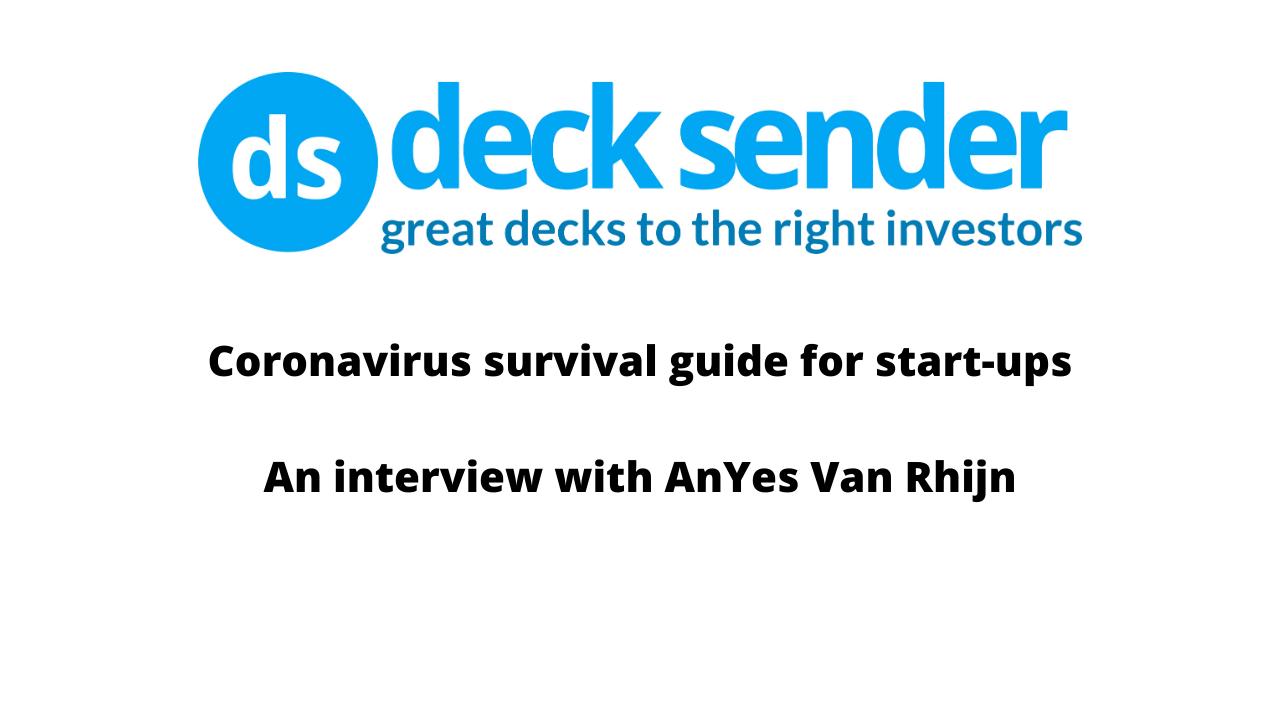 Coronavirus survival guide for start-ups – part 2